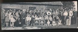 LOTENHULLE     -- FOTO 1973   +-  22 X 8  CM  ---  FAMILIEFEEST LEMAN - Aalter