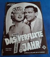 """Marilyn Monroe, Tom Ewell > """"Das Verflixte 7. Jahr (THE SEVEN YEAR ITCH)"""" > Altes IFB-Filmprogramm (fp515) - Zeitschriften"""