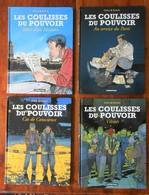 Coulisses Du Pouvoir ( Les ) Lot Des Tomes 1 à 4 - Books, Magazines, Comics