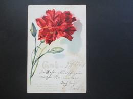Österreich 1910 AK Gruss Aus Fohnsdorf Strichstempel Blumengruß Wie Der Sonnenstrahl Die Knospe Zum Leben Küsst - Gruss Aus.../ Grüsse Aus...