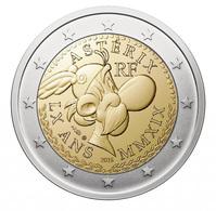 Frankreich - 2 Euro Gedenkmünze 2019 - Asterix - Eine Karte, Zufällige Auswahl - Frankrijk