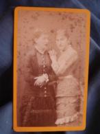 Photo CDV Martin à Montpellier - Deux Jeunes Femmes  Circa 1880 L447A - Fotos