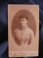 Photo CDV Camille Brion à Marseille - Jolie Jeune Femme,  Circa 1880 L447A - Fotos