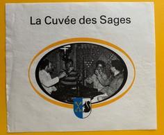 10725 - Etoy La Cuvée Des Sages Suisse - Etiquettes