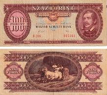 Hongrie 100 Forint - Hungary