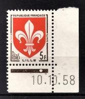 FRANCE 1958 - Y.T. N° 1186 - NEUF** - France