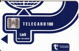 MALTA - Telecom Logo Lm5(vat Included), CN : C56150842, Chip SC7, 05/95, Used - Malta