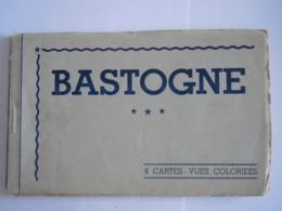 Bastogne 8 Cartes-vues Coloriées Carnet Editeur A. Ledent - Bastogne