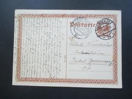 Österreich 1927 Ganzsache Beethoven Wien - Deutsch Brodersdorf Als Ak Stempel - 1918-1945 1. Republik
