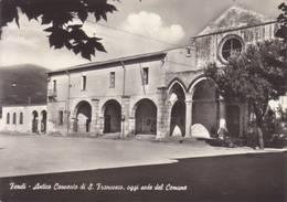 Fondi ( Latina )  - Antico Convento Di S.francesco,oggi Sede Del Comune  - Non Viaggiata - Latina