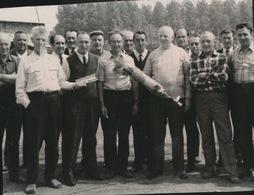 ZAFFELARE    -- FOTO 1973   +-  8 X 8 CM  ---  KONINGSSCHIETING - Lokeren