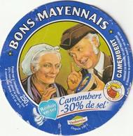 53 -  Camembert Bons Mayennais - 30% De Sel - Cheese