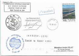 YT 3168 - Baie De Somme - Posté à Bord Du MD - Escale à Tromso - 18/08/1999 - France