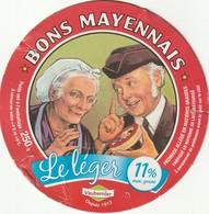 53 -  Camembert Bons Mayennais Le Léger 11% Mat.grasse - Cheese