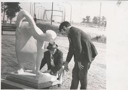 MERELBEKE     -- FOTO 1973   +-  14 X 8 CM  ---  DE WERKSTER - Merelbeke