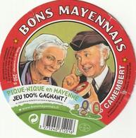 53 -  Camembert Bons Mayennais - Cheese