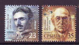 Serbia 2019  Franco Stamps TESLA MILANKOVIC  MNH - Servië