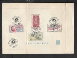 Czechoslovakia, 33rd Congress Of International Travel Agents, PRAHA / CEDOK 5 X.59 Special Cancel# - Czechoslovakia