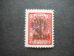 Lietuva Lithuania Litauen Lituanie Litouwen # 1926 MH # Mi. 266 - Litauen