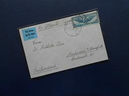 USA - Air Mail Letter From N.Y. To Neuhausen (Switzerland) -  DEC 21 1939 - United States