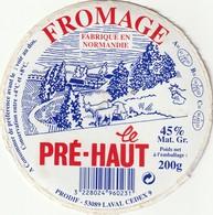 61 - Fromage Le Pré-haut - Cheese