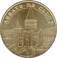 71 SAÔNE ET LOIRE ABBAYE DE CLUNY N°3 MÉDAILLE MONNAIE DE PARIS 2019 JETON MEDALS TOKENS COINS - 2019