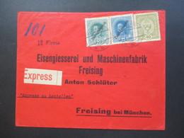 Österreich 1918 MiF Nr. 194 Kaiserkrone Und Aufdruck Deutschösterreich Nr. 234 / 235 Express / Per Express Zu Bestellen - 1850-1918 Imperium