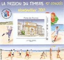 Bloc Du 42eme Congrès De La FFAP De Montpellier - FFAP
