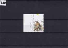 Belgique Andre Buzin Birds COB:2426-MNH-**-16-09-91 - 1985-.. Pájaros (Buzin)