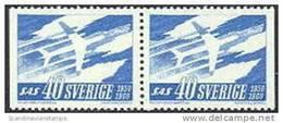 ZWEDEN 1961 10 Jaar SAS Paar PF-MNH - Suède