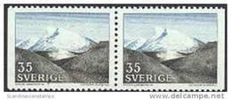 ZWEDEN 1967 Sneeuwberg Paar PF-MNH - Suède