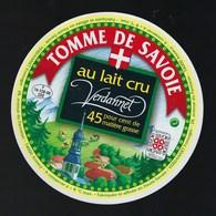 Etiquette Fromage  Tomme De Savoie Verdannet 45%mg  Fromagerie Verdannet Annecy 74 - Cheese
