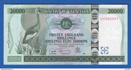 Ouganda  20.000 Shilling  2008  Neuf - Ouganda