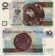 POLAND       10 Zlotych       P-183b        15.9.2016 (2017)      UNC - Polonia