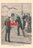 909 Frank Dadd Jagdsport Ozeandampfer Albatrosfang Druck 1914 !! - Prints