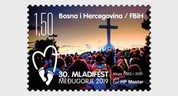 Bosnië / Bosnia - Postfris / MNH - 30e Jongerenfestival Medugorje 2019 - Bosnië En Herzegovina