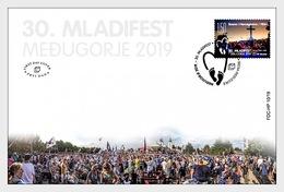 Bosnië / Bosnia - Postfris / MNH - FDC 30e Jongerenfestival Medugorje 2019 - Bosnië En Herzegovina