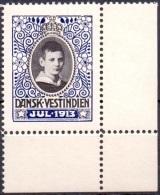 Deens West Indië 1913 Kerstzegel PF-MNH - Danemark (Antilles)
