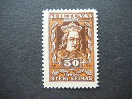Lietuva Litauen Lituanie Litouwen Lithuania 1920 MH # Mi. 81 - Lituanie