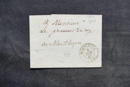 FRANCE - Lettre De Montluçon En Port Local En 1847  - L 33164 - Marcophilie (Lettres)