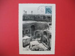 Carte Maximum  1954 N° 372  De Matmata Tunisie - Tunisie (1888-1955)