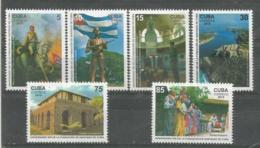 Cuba 2015 500th Anniversary Of Santiago De Cuba Fundation 6v + S/S MNH - Nuevos