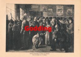 917 Godding Schlimme Nachricht Reederei Druck 1901 !! - Prints