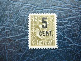 Lietuva Litauen Lituanie Litouwen Lithuania # 1922 MH # Mi. 162 - Litauen