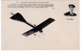 Aviation - Monoplan Deperdussin Piloté Par Vidart - ....-1914: Précurseurs