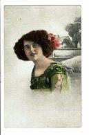 CPA - Carte Postale -Pays Bas - Une Jeune Femme Avec Une Chevelure Bien Fournie-1914-VM3898 - Vrouwen