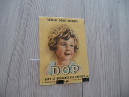 PUB Publicité Sachet DOP Shampoing Pour Enfant - Advertising