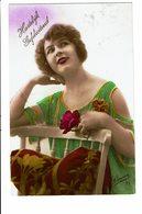 CPA - Carte Postale -Pays Bas -Hartelijk Gefeliciteerd- Avec Une Jeune Femme-1904 -VM3899 - Wensen En Feesten