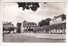 SP- 54 - LUNEVILLE - La Place Leopold - Photo Carte - Timbre - Cachet - 1958 - Luneville