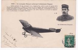 Aviation - Le Monoplan Nieuport Piloté Par Le Lieutenant Féquant - 1911 - ....-1914: Précurseurs